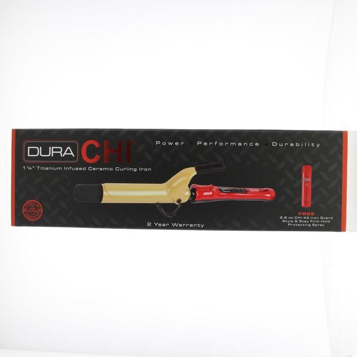 """CHI Tools Digital Irons Dura 1 1/4""""Titanium Infused Ceramic Curling Krultang SKU#GF6847EU 1Stuks  Description: CHI Dura 1 1/4""""Titanium Infused Ceramic Curling SKU#GF6847EU. Met de professionele CHI Dura krultangen maakt u prachtige krullen in een handomdraai! De tangen hebben keramische staven die gegoten zijn in titanium. Dit zorgt voor prachtige glans anti-frizz en lange houdbaarheid van uw kapsel. De krultangen zijn erg handbaar met een slank handvat met anti-slip en een topje dat koel…"""