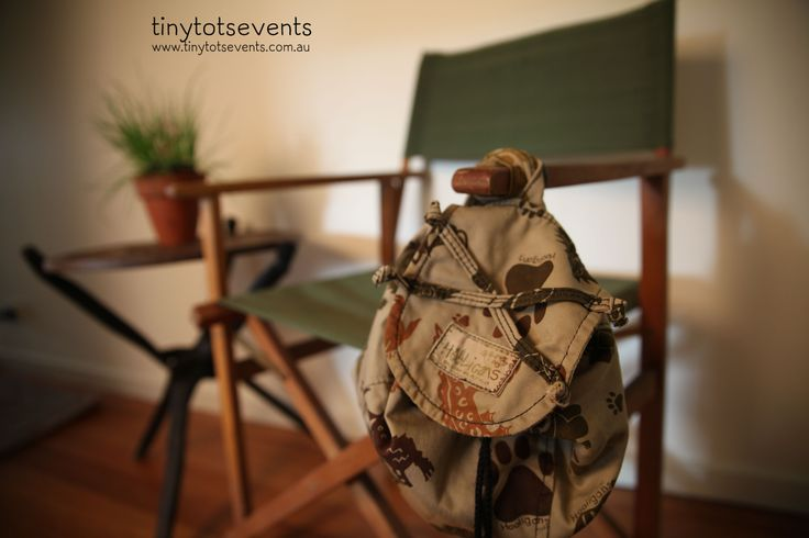 Safari birthday decorations - Tiny Tots Events - Melbourne's Little People Parties specialist