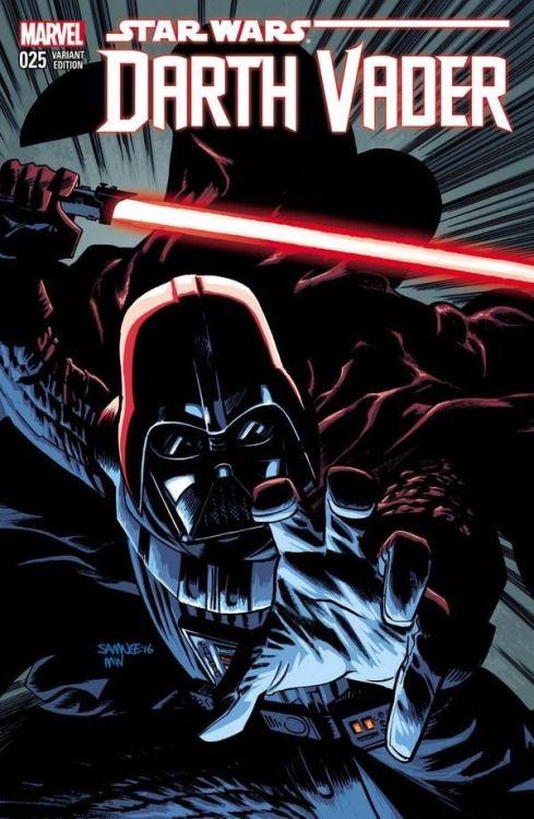Darth Vader #25 Variant - Chris Samnee,Colors - Matt Wilson