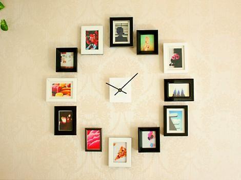 Reloj de pared DIY. ¡Ideaza!