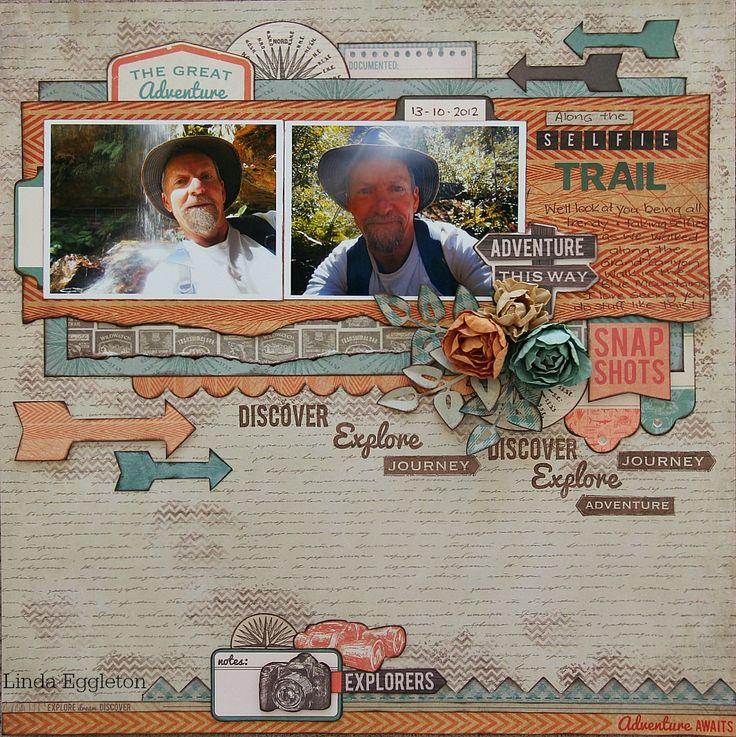 Kaisercraft - Outdoor Trail - Linda Eggleton