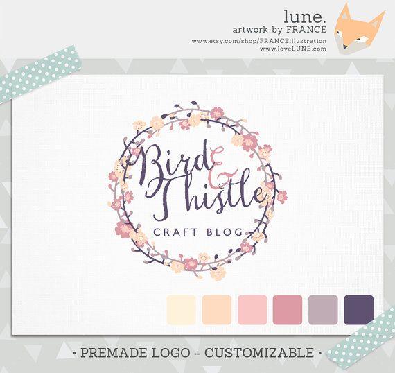 Premade LOGO - Customizable. Ready Made Logo by FRANCEillustration