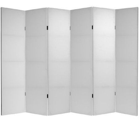 Do It Yourself 5 Panel Canvas Room Divider