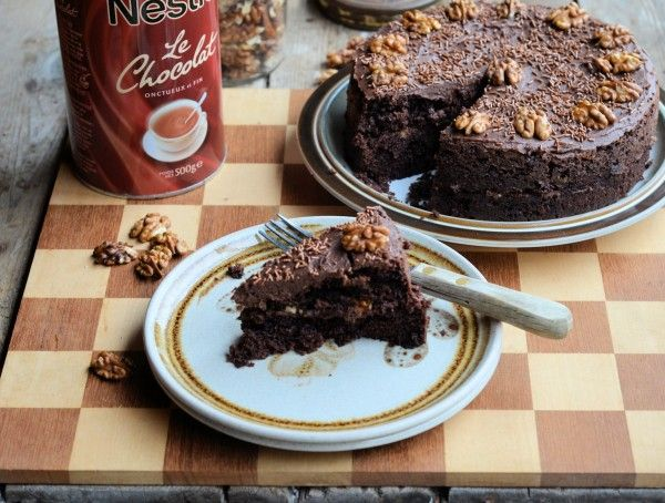The Famous Drinking Chocolate Cake