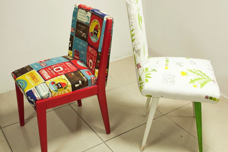 #owoceszycia Tapicerowanie #3 Recykling krzeseł ze śmietnika - wykończenie   Trash-ch...