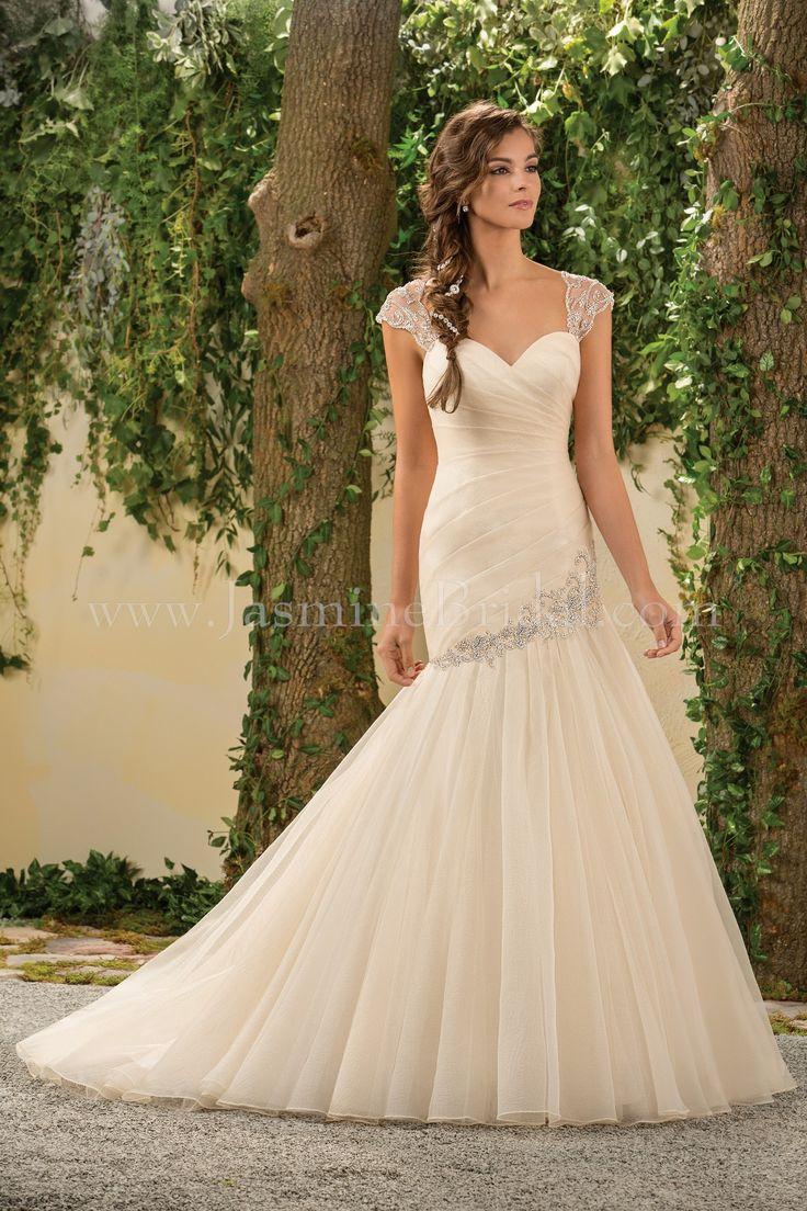 14 best Jasmine Bridal Gowns images on Pinterest   Short wedding ...