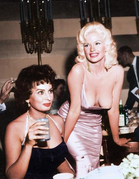 Sophie Loren and Jane Mansfield