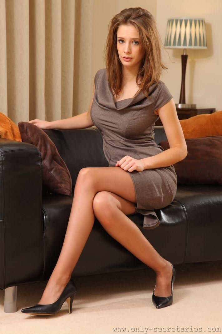 Sexy, Hot, Secretary, Sekretrin, Office, Bro, Long Legs -8135