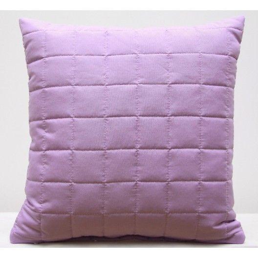 Svetlo fialová dekoračná obliečka na vankúš