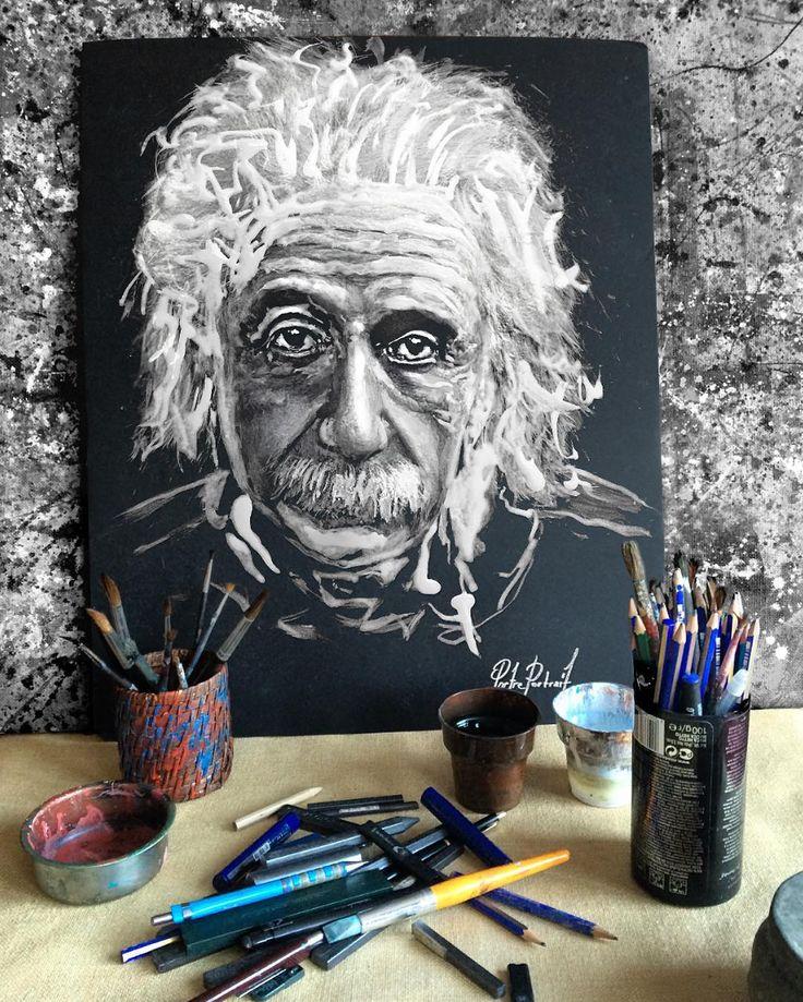 @portre.portrait #Einstein  #artwork #fineart #draw #drawing #portrait #portraitart #portre #artdrawing #artofdrawing #alberteinstein