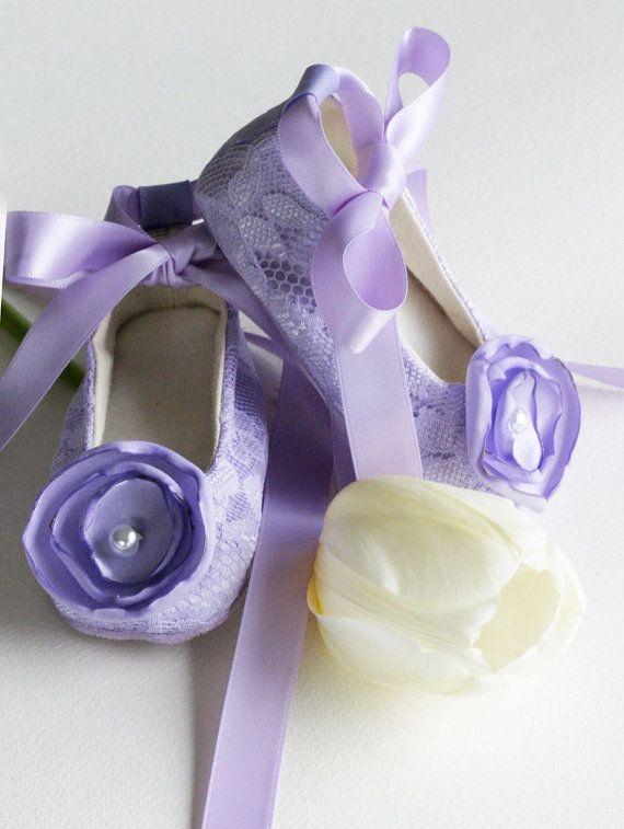 Baby Ballet Slipper - Lavender