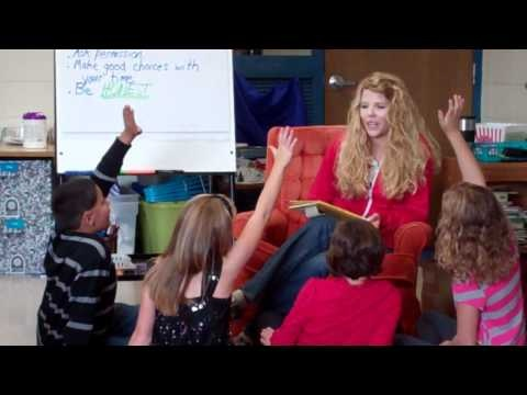 A Literacy Coach models an interactive reading activity in the upper grades! And a blog post detailing IRA in the in upper grades.
