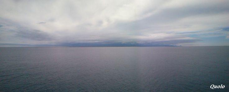 Gran Canaria desde la distancia