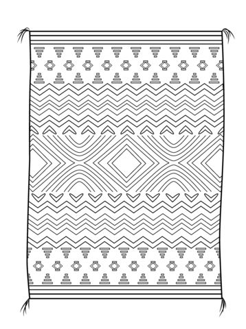 17 best images about esmirna latch hook on pinterest for Navajo coloring pages