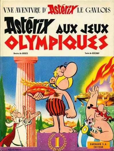 Astérix aux Jeux Olympiques / texte de Goscinny ; dessins de Uderzo