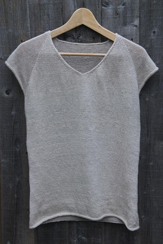 Knitted Linen T-shirt