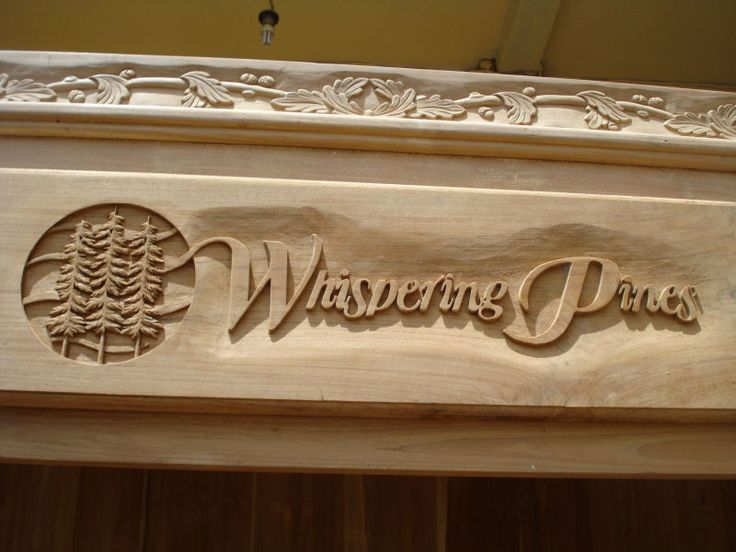 1000 Ideas About Carved Wood Signs On Pinterest Hand