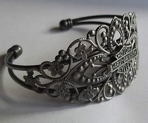 New Harley Davidson Official Charm Cuff Adjustable Bracelet Design Is Beautiful