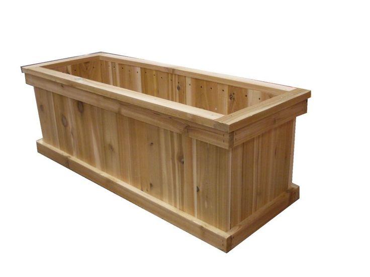 25 Best Ideas About Cedar Planter Box On Pinterest