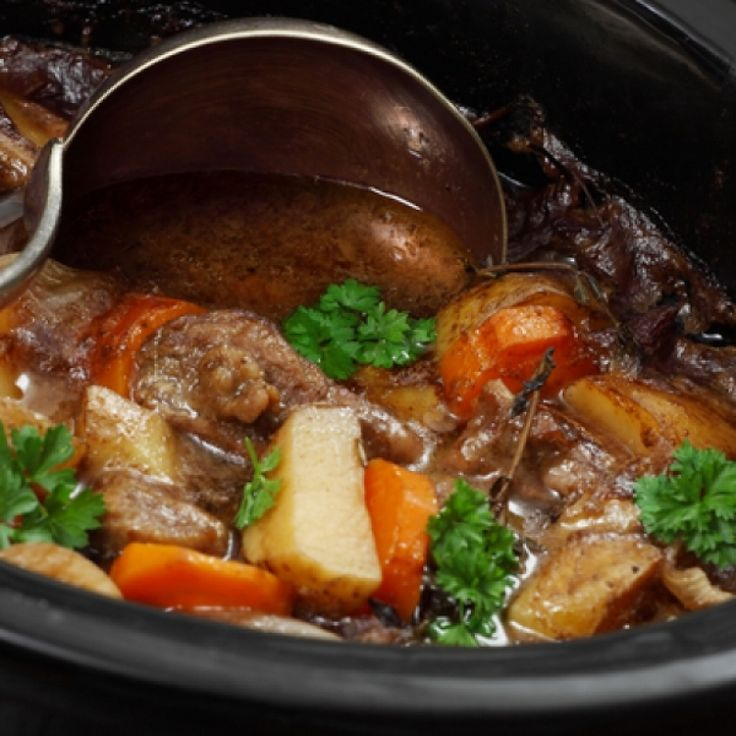 A classic Irish Stew recipe that can be made in your crock pot.. Crock Pot Irish Stew Recipe from Grandmothers Kitchen.