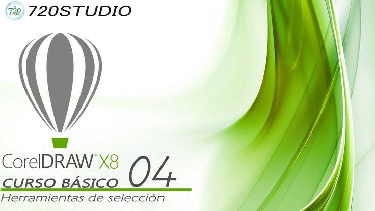 Corel Draw X8 - Herramientas de seleccion - Tutorial básico 04 - En Español