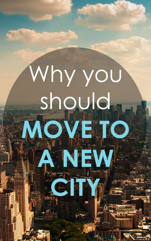 Why you Should Move to a New City for an internship