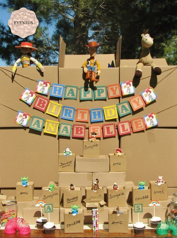 Toy Story Birthday!: Birthday Banners Ideas, Bday, Stories Parties, Birthday Parties, Toy Story Birthday, Parties Ideas, Blocks Banners, Toys Stories Birthday, Desserts Tables