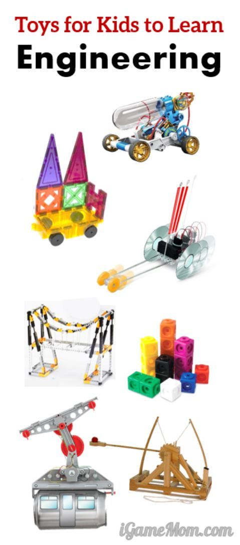 Best building toys for kids to learn engineering. Toys for kids from preschool to high school, even parents will love playing them. Many integrates math and science too.  Playful way to teach STEM subjects.