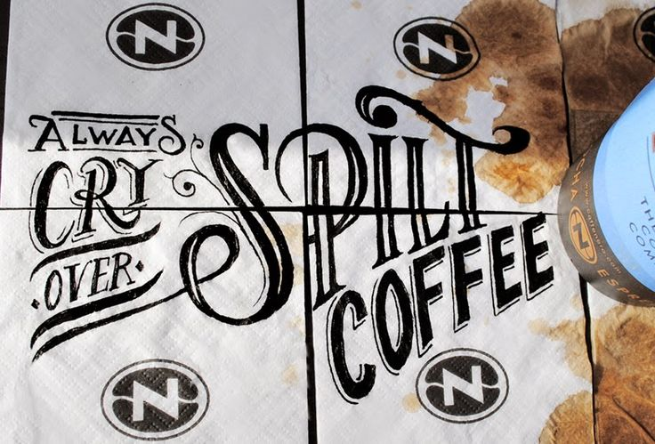 Artist Draws Intricate Finely Detailed Lettering on Discarded Coffee Cups | Junkculture