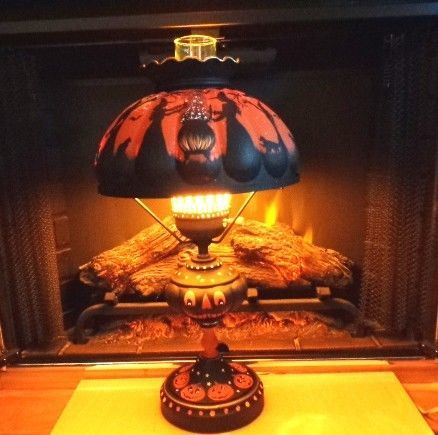 Salt Lamps And Cats Entrancing 17 Best Halloween Lamp Images On Pinterest  Buffet Lamps Halloween Decorating Inspiration