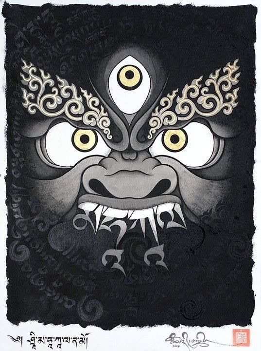 91 best images about mahakala on pinterest tibet buddhists and circles. Black Bedroom Furniture Sets. Home Design Ideas