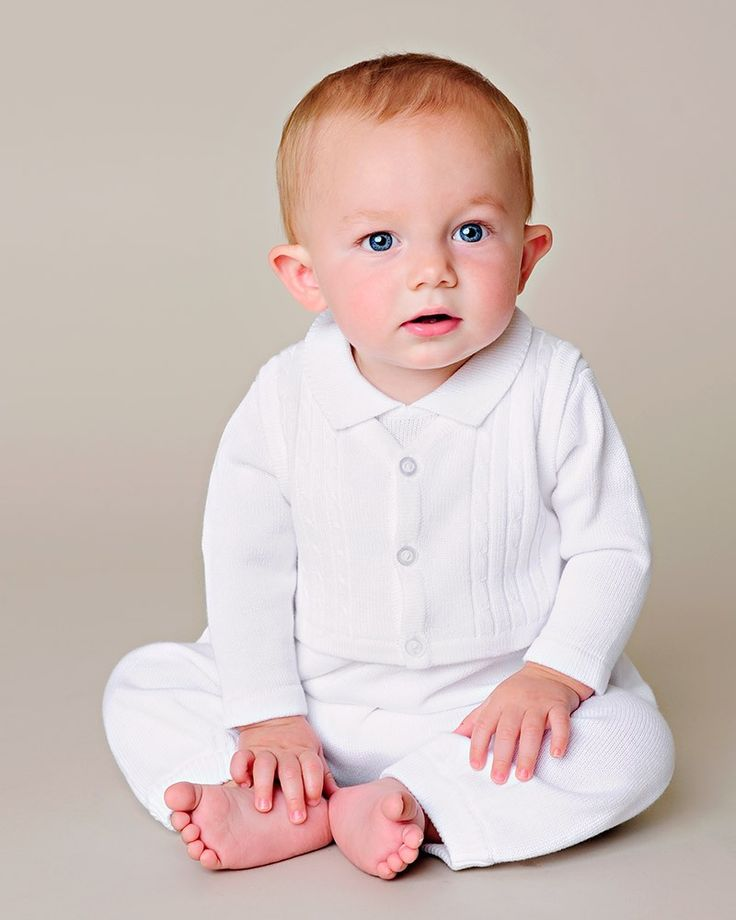 Jeffrey Christening Knit Outfit