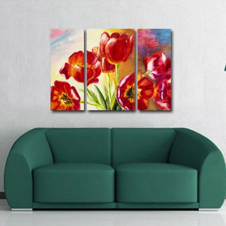 #Tablouri_Canvas din 3 piese: 2 buc x 26 x 60 cm.1 buc x 36 x 60 cmSuprafata totala…
