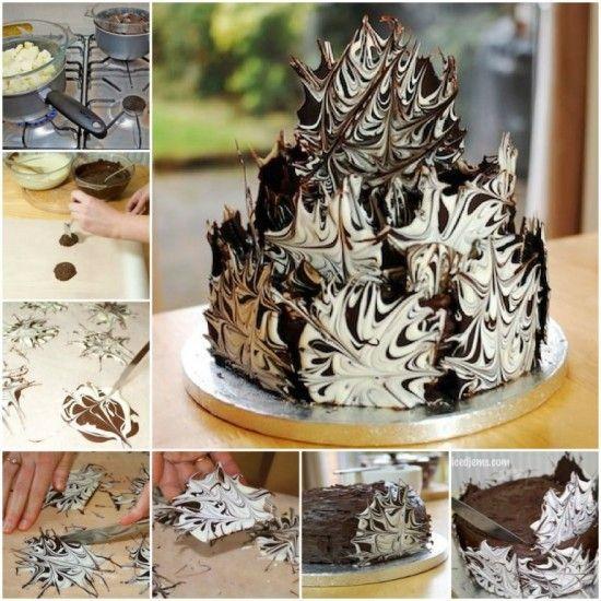 Marble Chocolate Cake