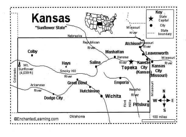 January 25th is Kansas Day! Kansas became a state on January 29, 1861 . We will be celebrating our state's 152nd birthday this year!   Mak...