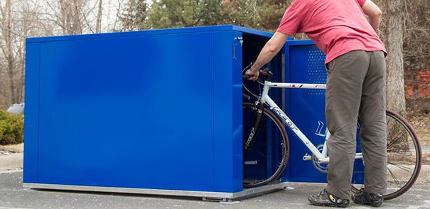 Dero Bike Locker 40