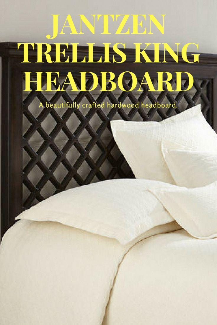 A beautifully crafted hardwood headboard. (Sponsored) Bedroom ideas, Bedroom ideas Master, Bedroom ideas For women, Bedroom ideas Grey, Bedroom ideas …