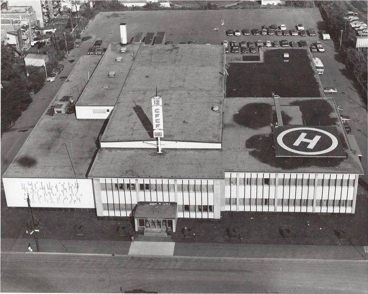 Montreal, 1974 - CFCF studios at 405 Ogilvy Ave.