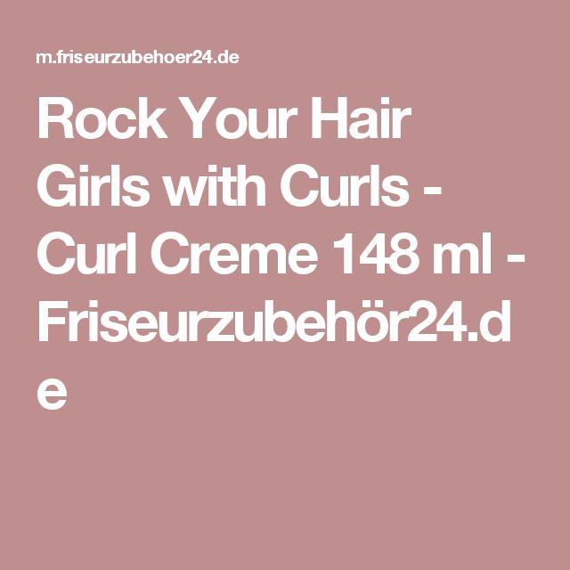 Rock Your Hair Girls with Curls - Curl Creme 148 ml - Friseurzubehör24.de