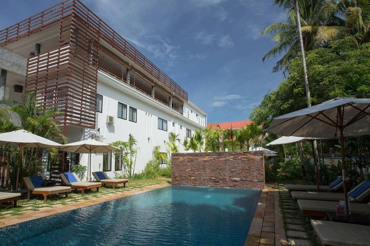 Check out this awesome listing on Airbnb: Villa 14 Rooms+ FREE Breakfast (Private Villa) - Villas for Rent in Krong Siem Reap