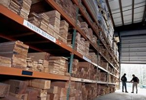 hardwood lumber is used to make flooring, furniture, cabinets and decking