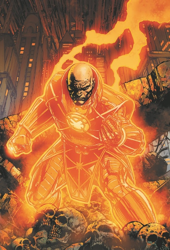 Orange Lantern - Lex Luthor