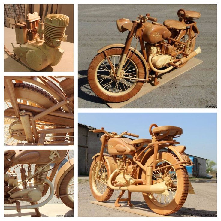 Classic motorbike..