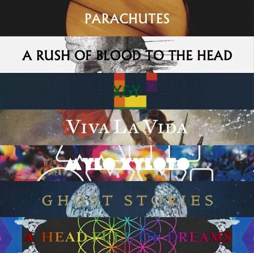 I used to listen to the older Coldplay albums, up to Mylo Xyloto, religiously. X&Y was always my favorite though, and that album helped me ease into post punk.