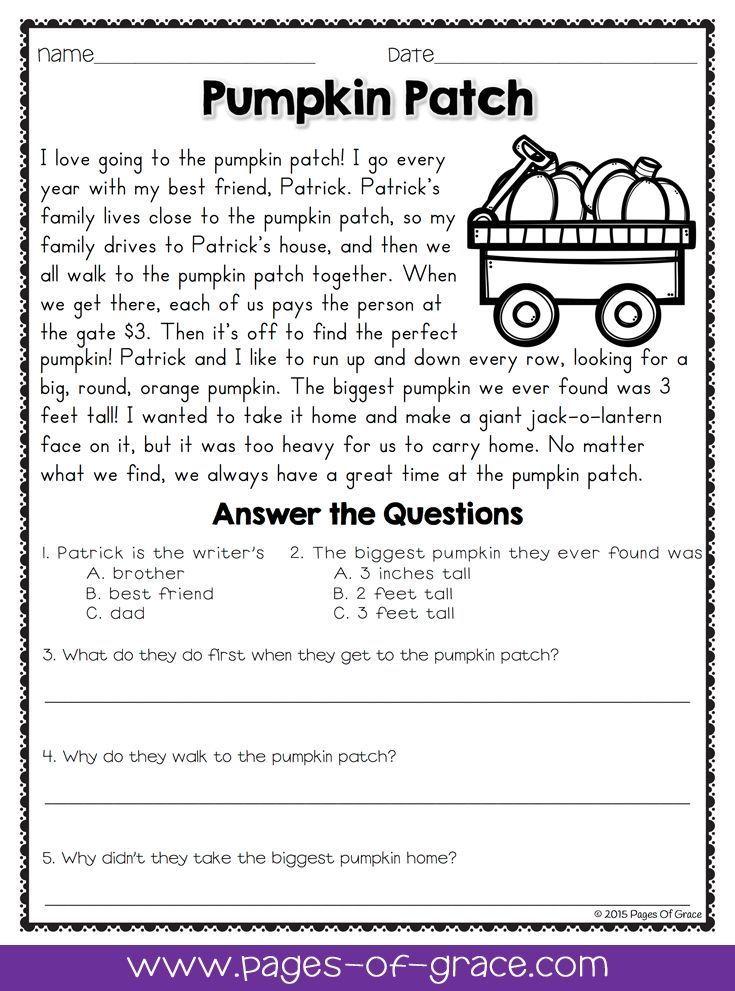 8 Best Grade 1 English Images On Pinterest Comprehension