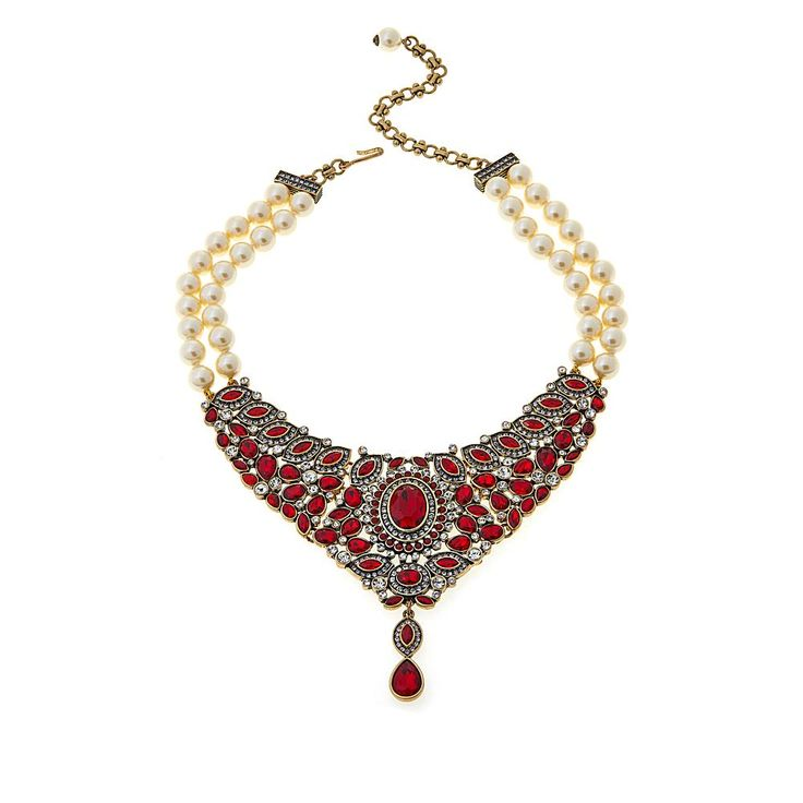 """Heidi Daus """"Worth Waiting For"""" Beaded 2-Strand Crystal Drop Necklace - Clear/No Color"""