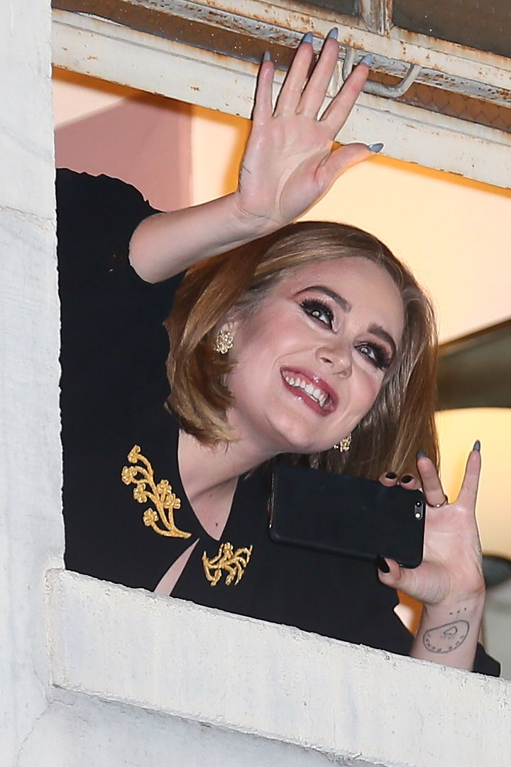 Adele Has the Support of Her Famous Girlfriends and Celebrity Fans at Her LA Concert