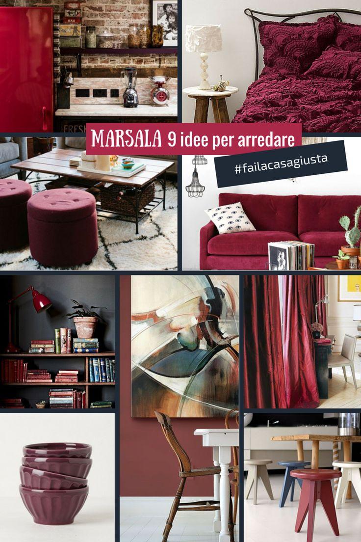 #Arredare #casa con il #Marsala https://www.fazland.com/articoli/collezioni/arredare-casa-color-marsala-9-idee-fotografiche