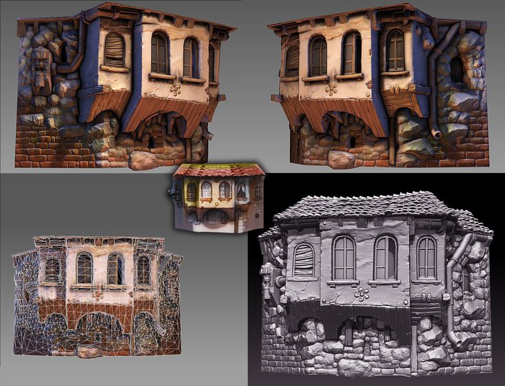 old building tile 1 by ~sittingducky on deviantART