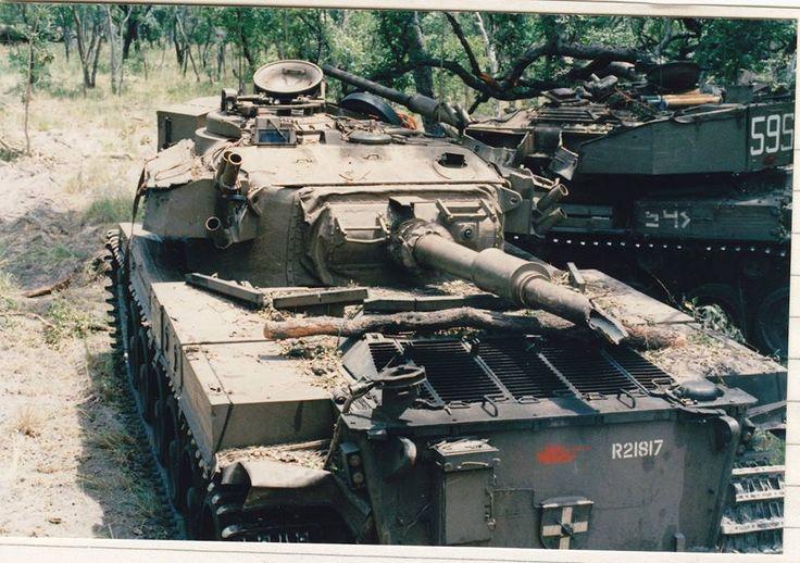 Fucked up tank canon barrel.